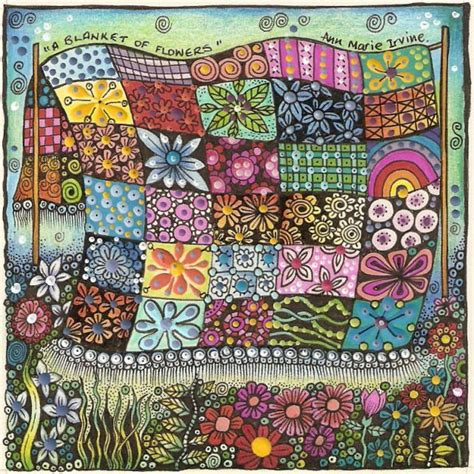 flower doodle quilt kit 468 best images about tangle tangle on