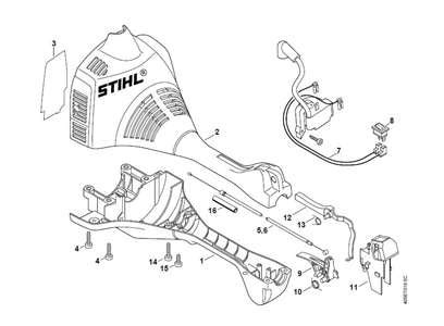stihl eater diagram stihl fs 250 parts diagram automotive parts diagram images