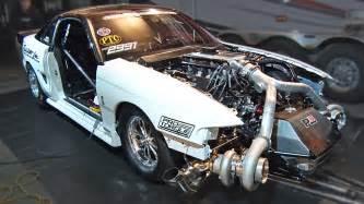 Turbo Ford Pin Drag Radial Mustang Crash Tremek Car On