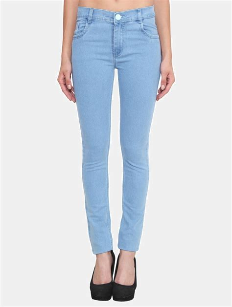 light blue jeans womens crease clips slim women s light blue jeans buy crease