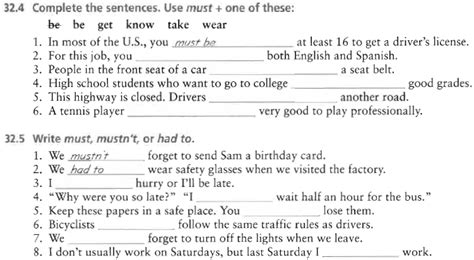 preguntas con must expresar obligacion en ingles modal verb must leccion 41
