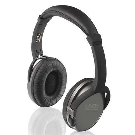 Headphone Wifi Whf 45 Wireless Tv Headphones From Lindy Uk
