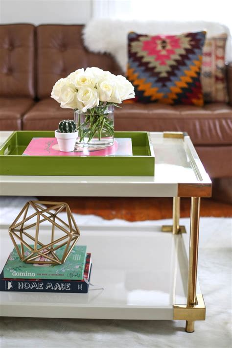 coffee table styling styling a coffee table 3 ways a beautiful mess