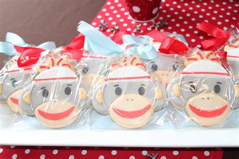 Sock Monkey Baby Shower Ideas by Sock Monkey Baby Shower