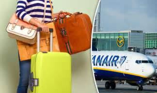 ryanair baggage allowance how much can i take travel