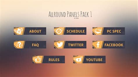 11 Best Twitch Design Inspo Images On Pinterest Banner Banners And Overlays Twitch Info Templates