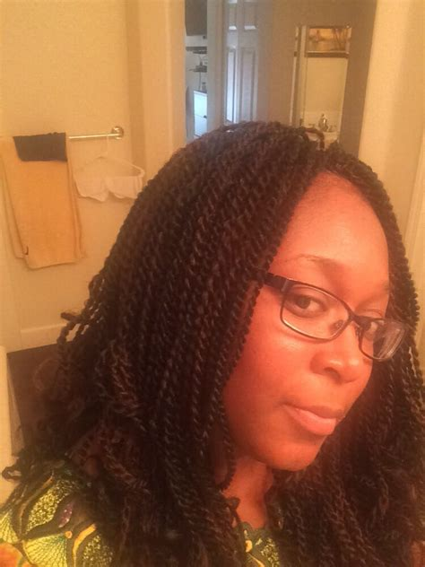 crochet braids using pre twist hair crochet braids with pre twisted senegalese hair yelp