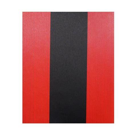 Wallpaper Motif Garis Elegan 07 jual java wallpaper xte3040 motif garis dekorasi dinding merah hitam harga