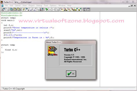 latest full version software blogspot turbo c 4 5 full version for windows 7 and windows xp