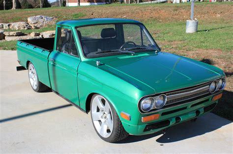 datsun mini truck custom restored lowered   reserve classic datsun