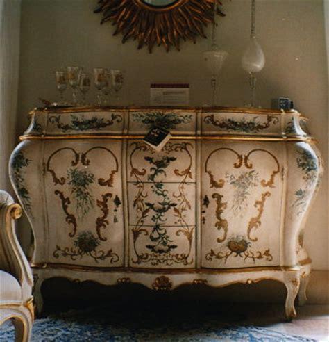 mobili veneziani 700 c g dipinti 2 credenza in stile 700 veneziano