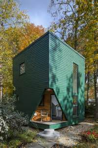 micro house little green cabin modern guest house tiny house pins