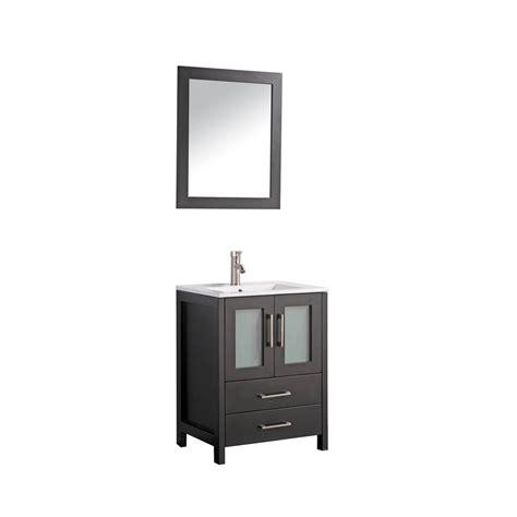 Office Bathroom Vanities Argentina 24 Quot Single Sink Bathroom Vanity Set Espresso