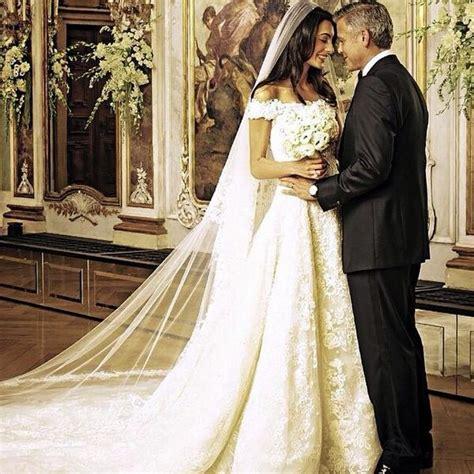 hochzeitskleid amal clooney amal alamuddin and george clooney s wedding amal clooney