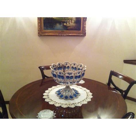 centro tavolo centro tavolo in cristallo di boemia e swarovski