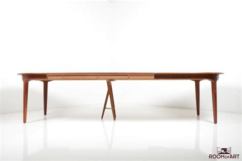 large dining table by henning kjaernulf room of