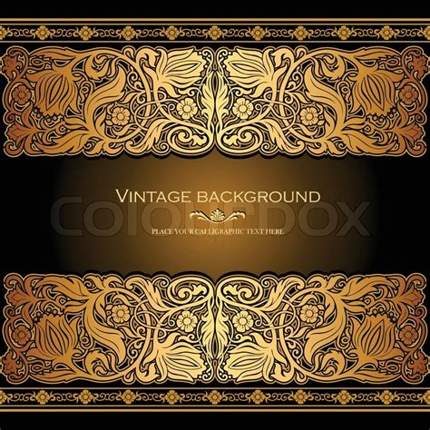 pattern warna emas background undangan motif emas klasik sakti kreasi