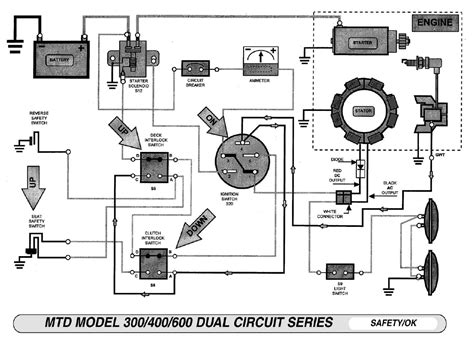 wiring diagram craftsman lawn mower model 917 alexiustoday