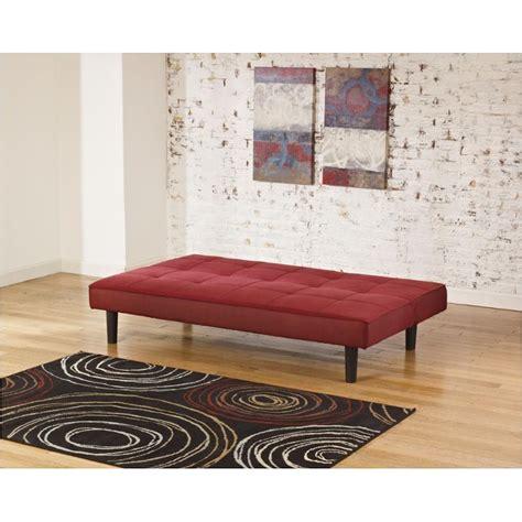 ashley furniture flip flop sofa 6830145 ashley furniture vara red flip flop sofa red