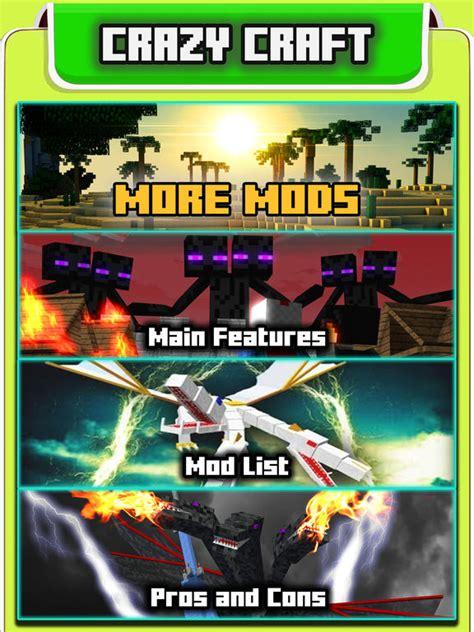 x mod game pc app shopper crazy craft 3 0 edition mods guide for