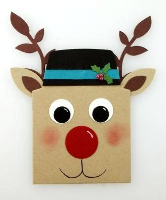 Reindeer Gift Card Holder - reindeer gift card holder