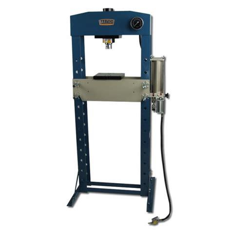 pneumatic shop press pneumatic shop press air operated shop press baileigh