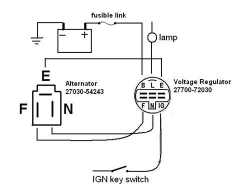 toyota hilux voltage regulator wiring diagram 45 wiring
