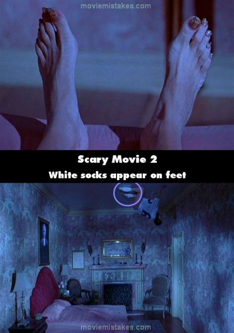 scary movie bedroom scene best comedy movie mistake pictures of all time