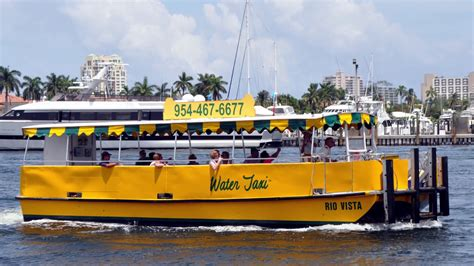 boat taxi fort lauderdale water taxi ft lauderdale youtube
