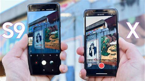 Samsung Galaxy Plus Kamera Depan samsung galaxy s9 plus vs iphone x test comparison