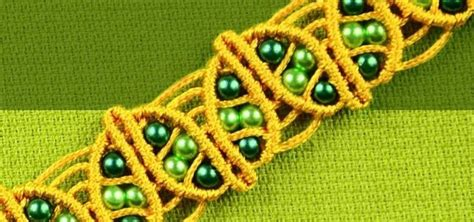 Macrame School - macrame leaf bracelet tutorial 171 jewelry