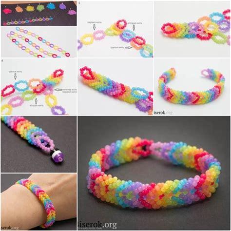 step  step ideas   create  fashionable bracelet