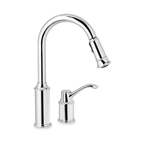 moen aberdeen kitchen faucet moen 174 aberdeen pull out one handle kitchen faucet in