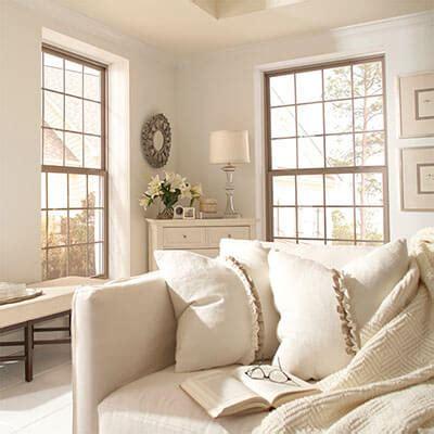 beige tan almond vinyl windows home decorating 1500 single hung ply gem windows