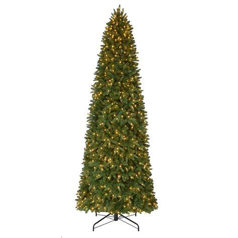 sierra nevada tree artificial home accents 12 ft pre lit led nevada slim artificial tree with 900