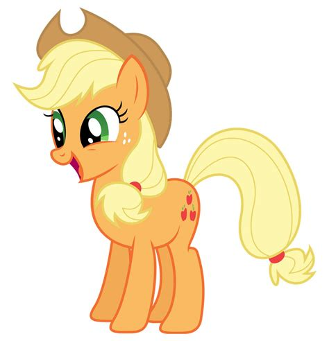 Imagenes De Apple Jack De My Little Pony | my little pony dibujos para imprimir y recortar de applejack