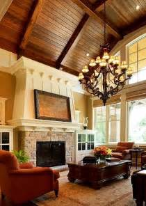rustic living room ceiling lighting images