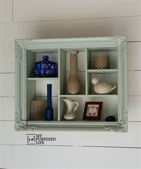 10 ideas about shadow box shelves on box