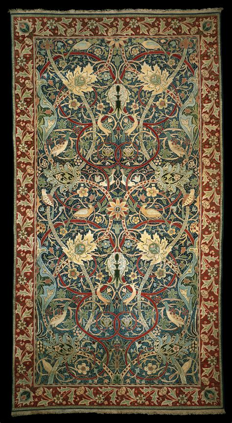 Hand Knotted Rugs Uk Wallpapers Fabrics And Patterns On Pinterest William