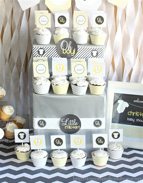 Hobby Lobby Home Decor Fabric by Gray Amp Yellow Baby Shower Decorating Ideas Love Of