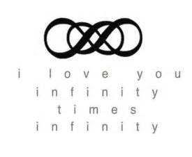 Infinity Times Infinity Best 25 Infinity Tattoos Ideas On