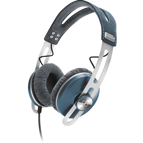 sennheiser momentum headphones sennheiser momentum on ear headphones blue 505949 b h photo
