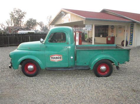 dodge shop 1951 dodge truck b series texaco shop truck