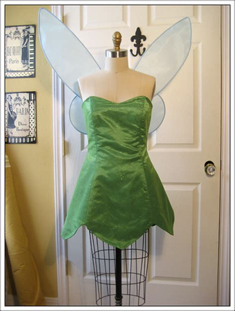 Handmade Tinkerbell Costume - pan and tinkerbell costumes