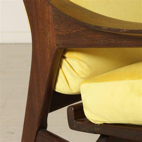 foam padding upholstery armchair teak foam padding velvet upholstery vintage