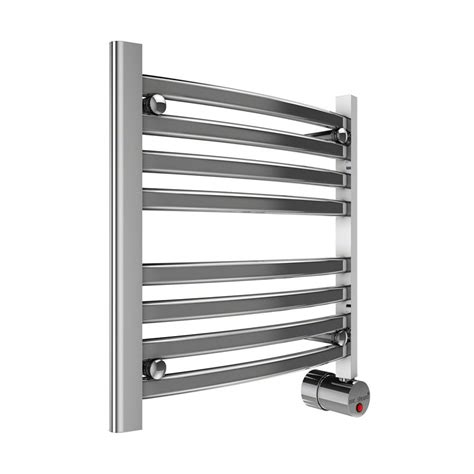Steam Towel Warmer Shop Mr Steam Polished Chrome Wall Mounted Towel Warmer