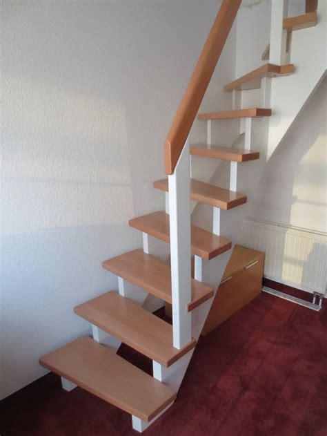 Treppe Ohne Geländer viertel gewendelt buche wei 223 lack gel 228 nder ohne st 228 be