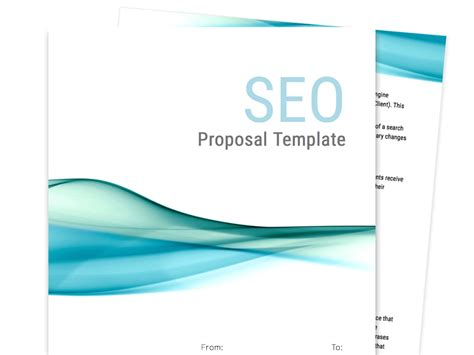 propsal template free business templates