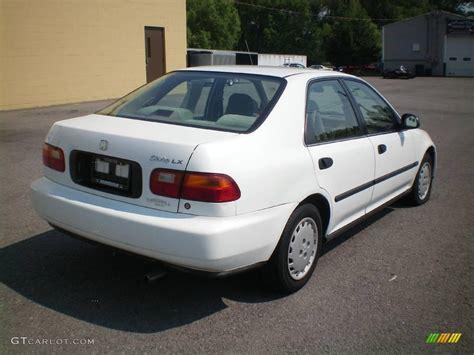 1995 honda civic colors 1995 white honda civic lx sedan 12796279 photo 10