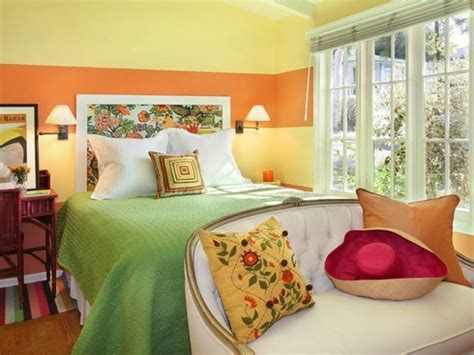 green and orange bedroom clever small bedroom decorating ideas useful tips and tricks